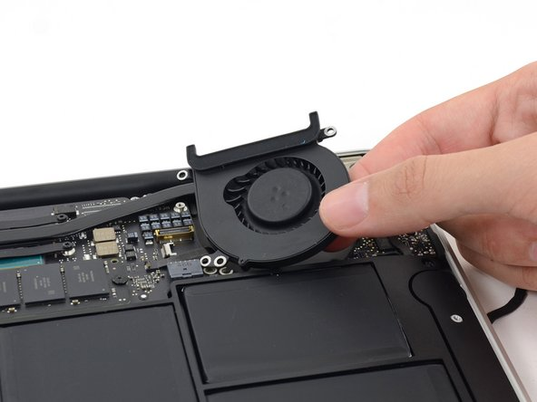 "MacBook Air 11"" Early 2015 Fan Replacement"