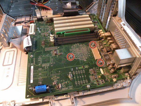 Removing the logic board