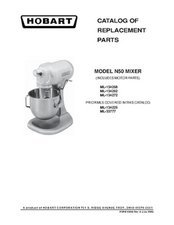 HOBART N50 CATALOG OF REPLACEMENT PARTS