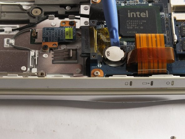 Use the Plastic Opening Tools to help pop  the BIOS Battery.