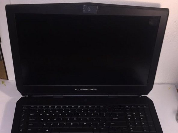 Alienware 17 R2  Screen Replacement