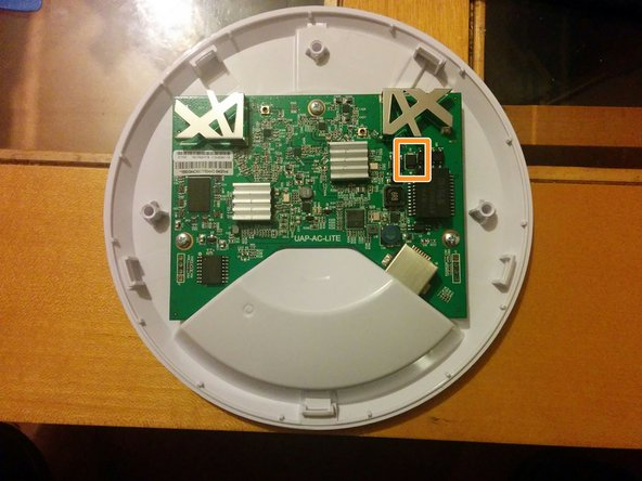 Ubiquiti UniFi AP AC Lite TVS Diode Replacement