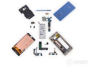 Samsung Galaxy Note  Fan Editionの分解