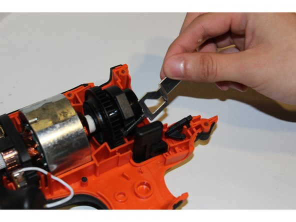 Image 2/2: Make sure to not loosen or remove the black trigger stopper.