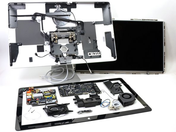 iMac teardown on iFixit.org
