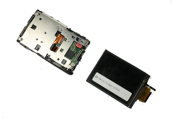 Nikon Coolpix S4100 LCD Screen Replacement