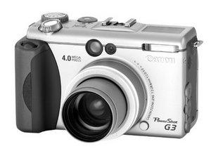 Canon PowerShot G3 Repair