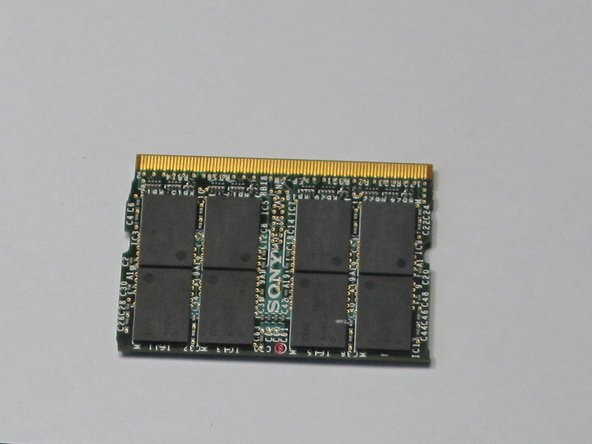 Sony Vaio VGN-S260 RAM Replacement