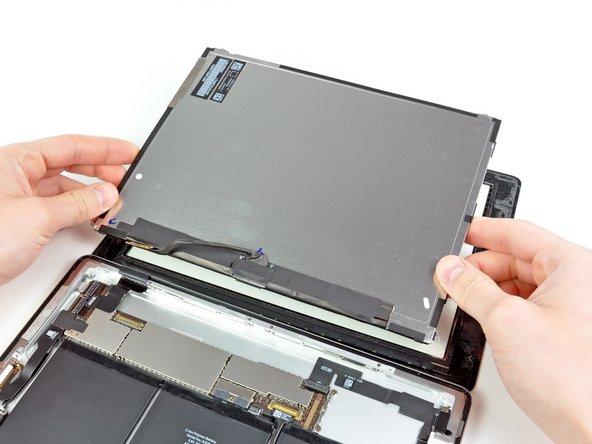 Entferne die LCD Einheit vom iPad 2.