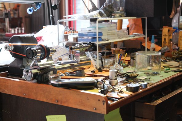Watchmaker workshop San Luis Obispo
