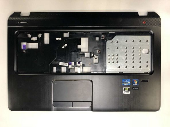 The speaker is located at the back side of the front panel.