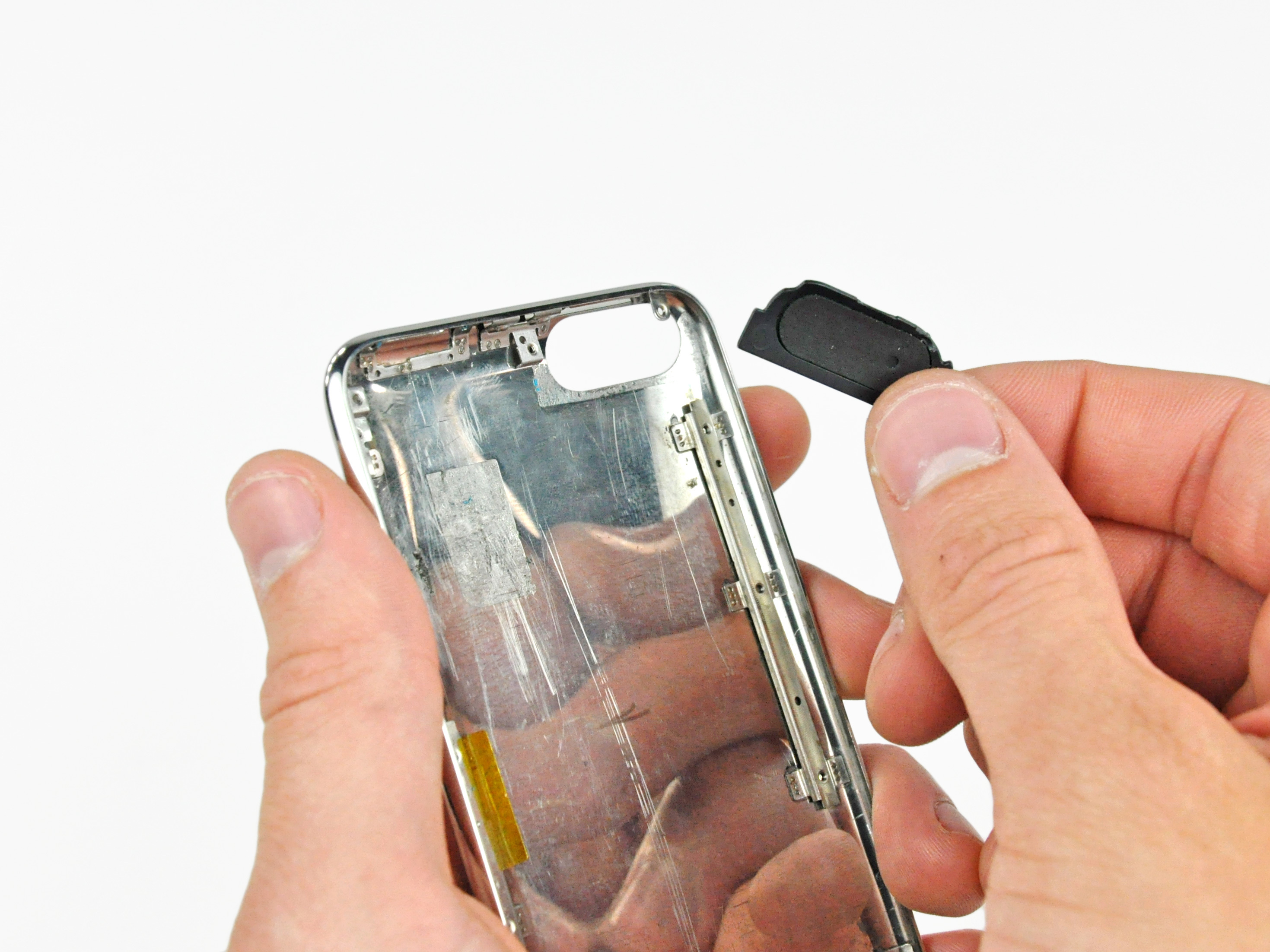 Ipod touch 2nd generation rear panel replacement ifixit repair guide.