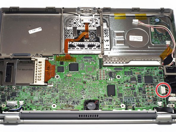PowerBook G4 Titanium DVI DC-In Board Replacement
