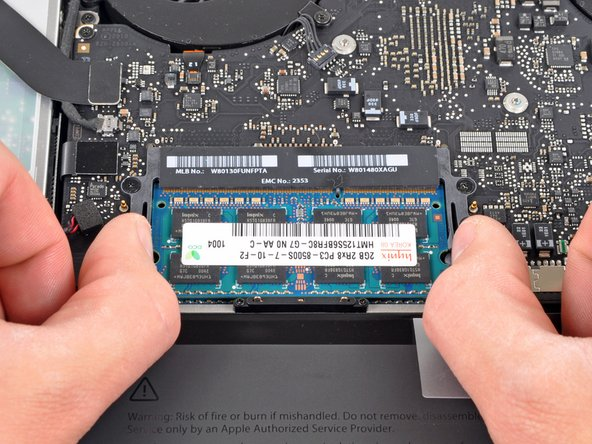 macbook pro 15 unibody mid 2010 ram replacement ifixit repair guide rh ifixit com MacBook Pro Memory Upgrade 16GB Max Memory Upgrade for MacBook Pro