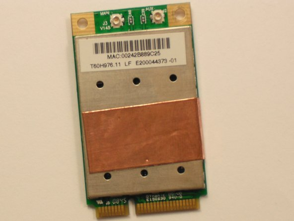 Acer Aspire One ZG5 Internal Wireless Card Replacement