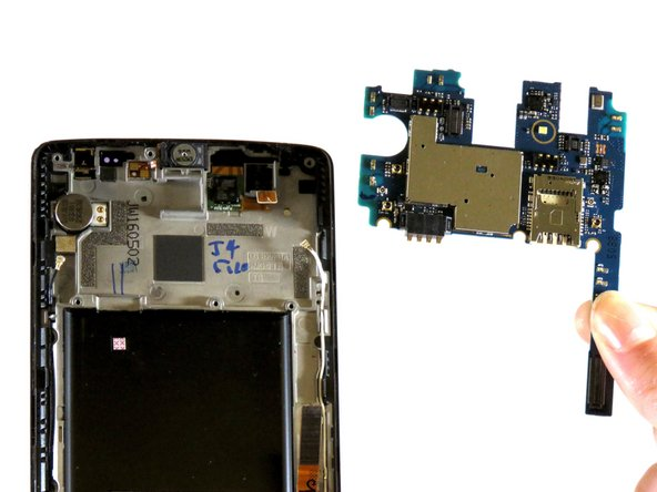 LG G Vista Motherboard Replacement