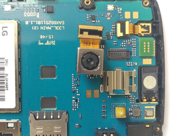 LG Risio Rear-Facing Camera Replacement