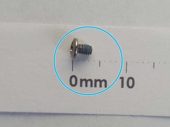 Remove two 3mm PH1 screws