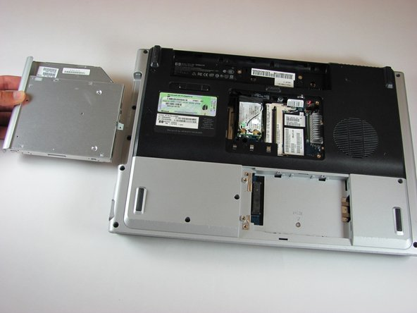 HP Pavilion dv5000 Optical Drive Replacement