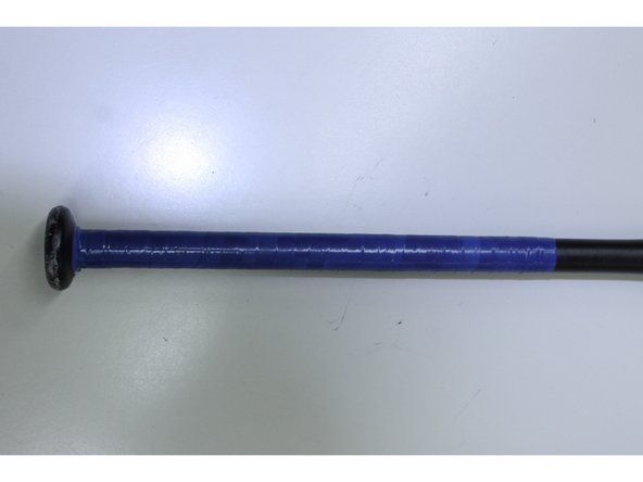 Image 2/2: Now that your new grip is complete, you're ready to play ball!