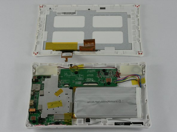 If the screen is not working correctly, you will need to replace the entire display assembly