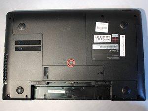 ODD/HDD/Memory panel