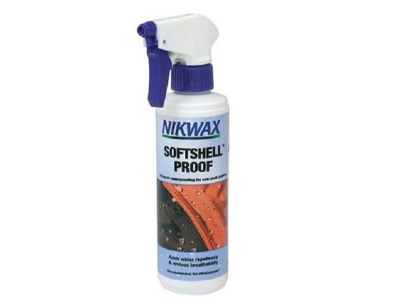 If the waterproofing has been reduced with time, you can treat your jacket with a spray-on waterproofing. We recommend the spray on product from Nikwax for softshell products.