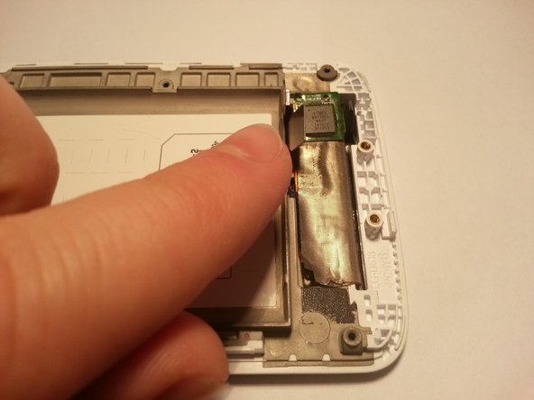 Peel the LCD cable off of the phone.