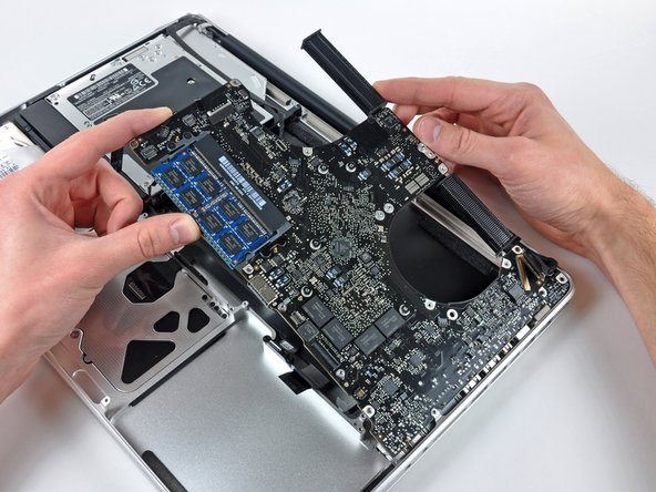 Image 1/1: Do not entirely remove the logic board yet!