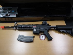 G&G CM16 GBB Raider Long Airsoft Teardown and Reassembly
