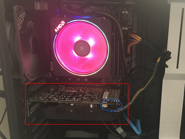If the graphics card is still installed into the system, begin by removing the card.