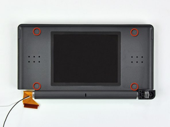 Nintendo DS Lite Rear Display Bezel Replacement