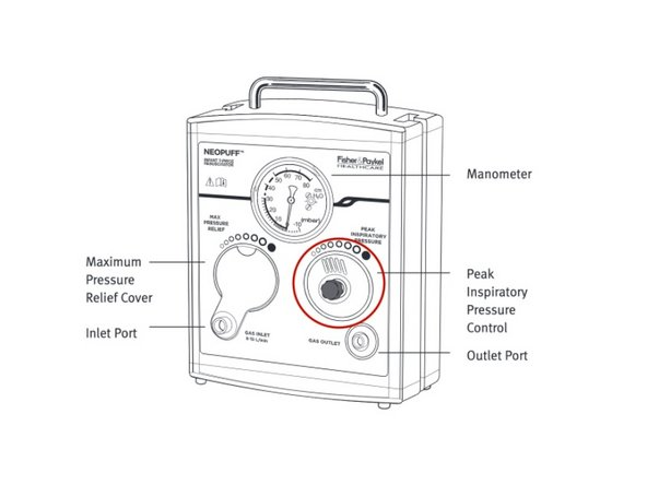 How to Adjust the Max Pressure Relief on the Fisher Paykel Neopuff