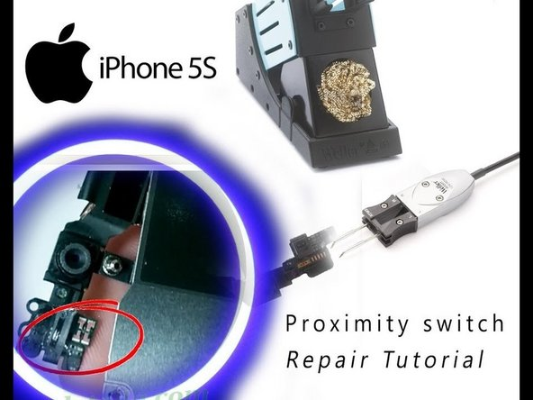 How to fix proximity sensor iPhone 5s