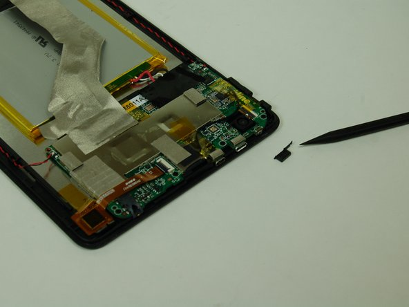 Once the faulty power button is removed, follow the directions in reverse order to reassemble the device.