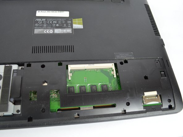 Asus R510CA-OB01 RAM Replacement