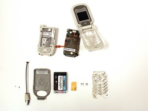 Motorola i450 Boost Mobile Teardown
