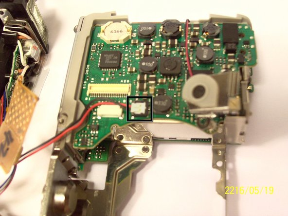 Remove the last wires connected to the motherboard. You can remove it by gently lifting it upwards.