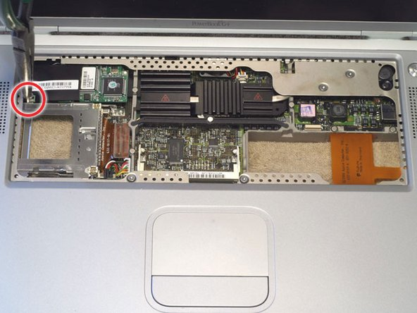 PowerBook G4 Titanium Mercury Modem Replacement