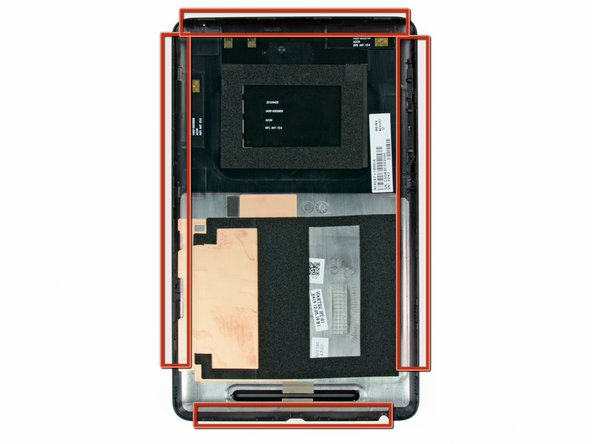 Nexus 7 Rear Panel Replacement
