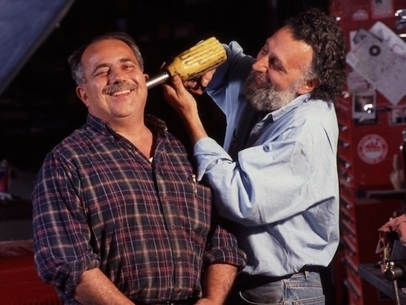 Tom Magliozzi and his brother Ray, hosts of Car Talk