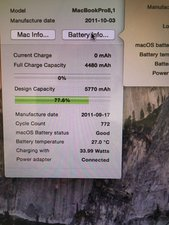 SOLVED: Battery Hardware Error Code - MacBook Pro 15