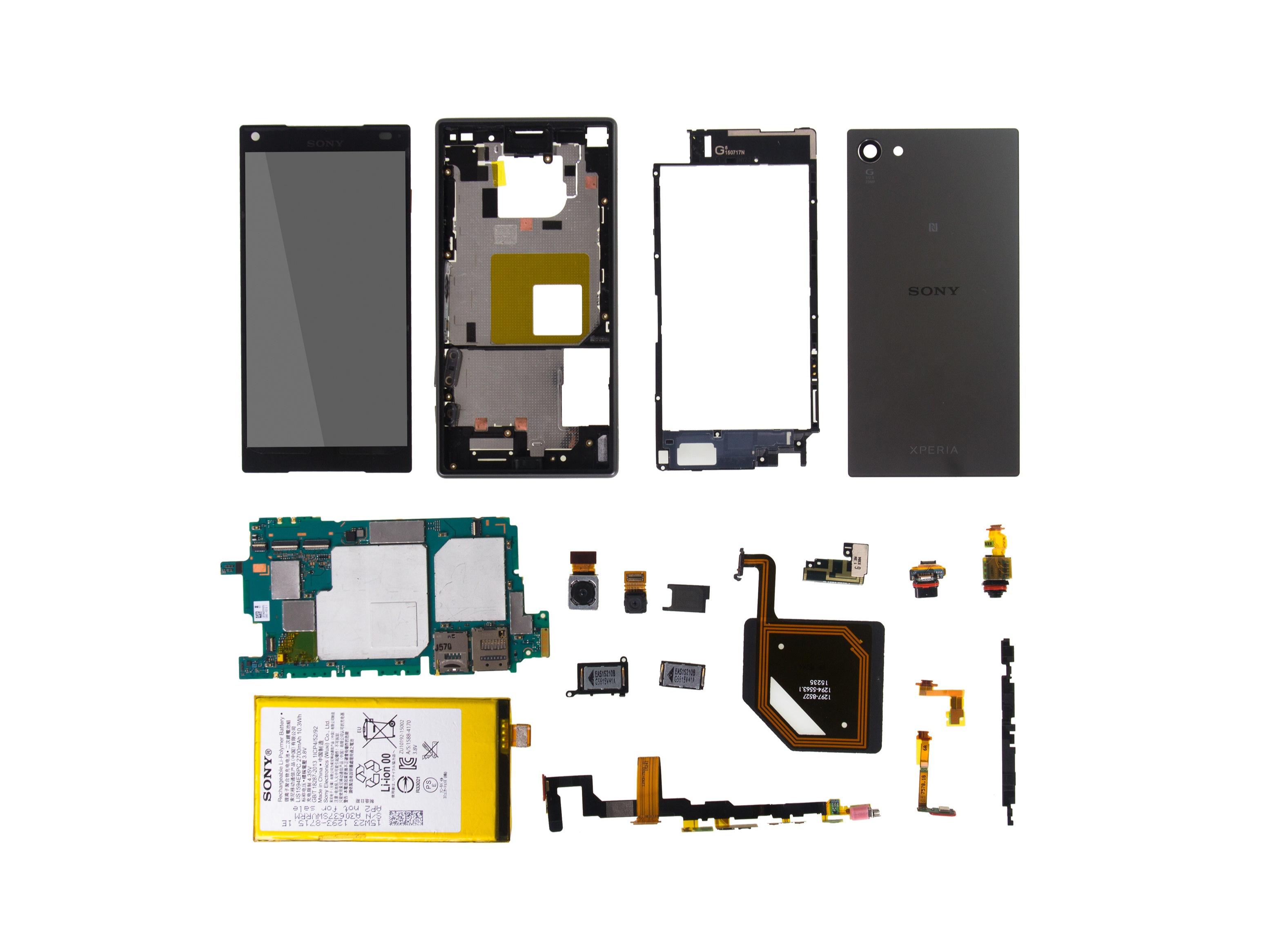 Sony Xperia Z5c Teardown Ifixit Z Circuit Diagram