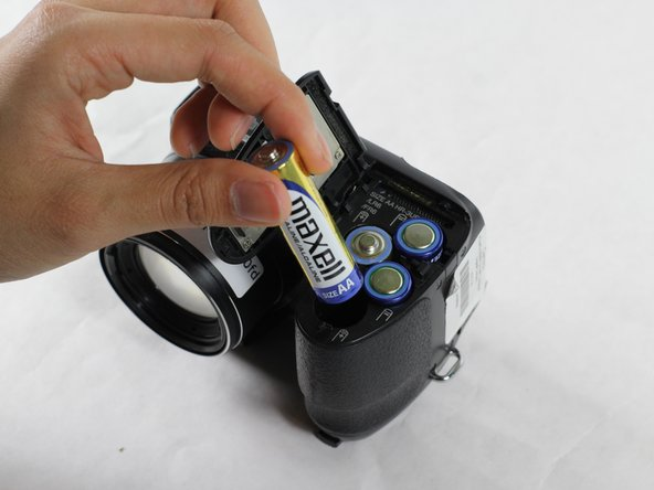 Fujifilm Finepix S1000fd Battery Replacement