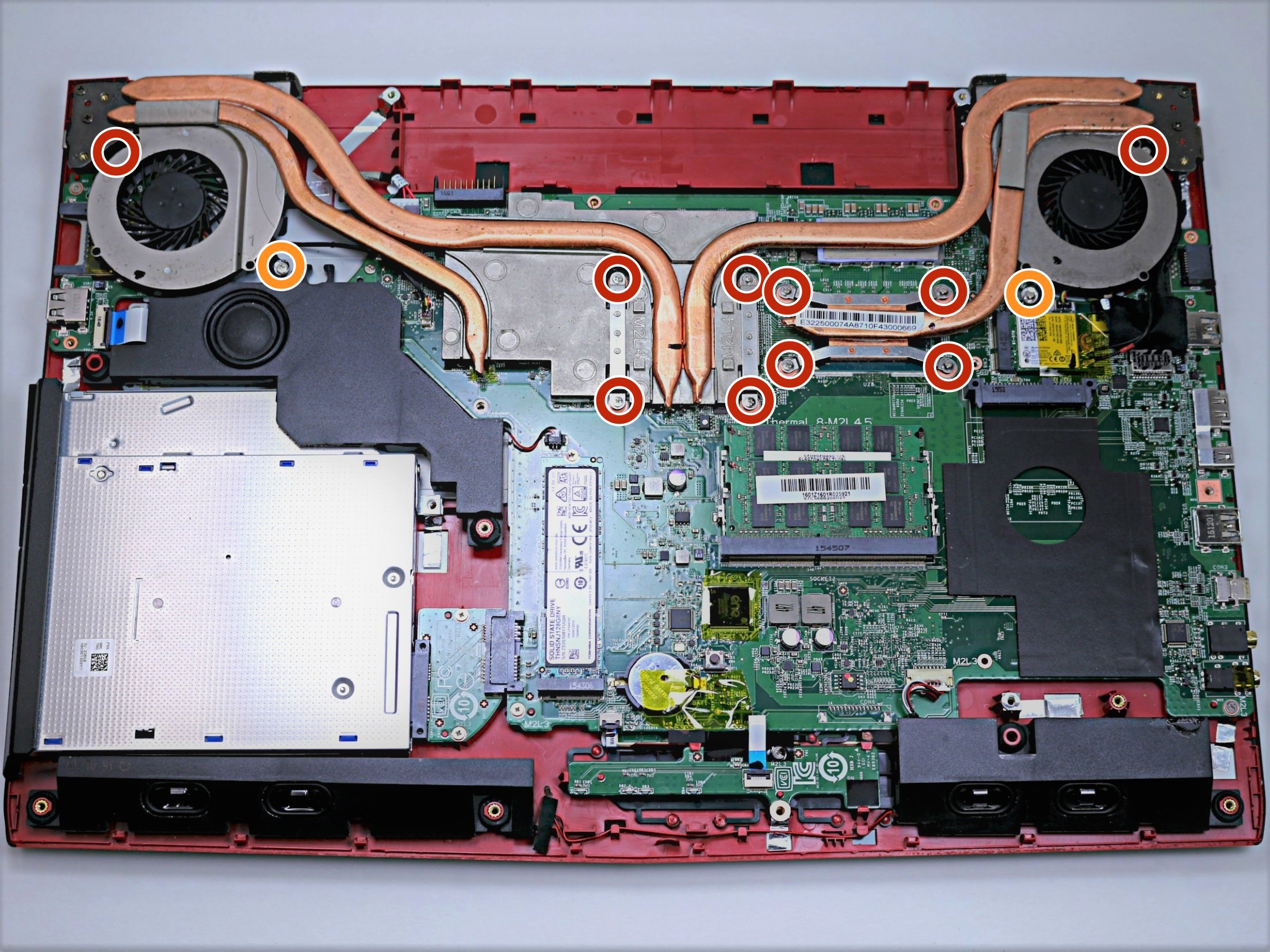 Msi Ge72 6qf Apache Pro Fan Replacement Ifixit Repair Guide