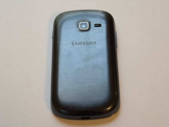 This is the Samsung Galaxy Centura, a low-end smartphone made for the Tracfone/Straight Talk networks.