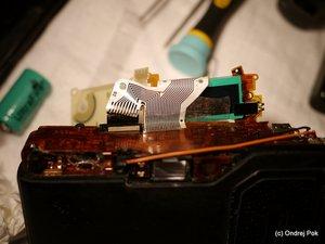 Ricoh GR-1 LCD display missing segments repair
