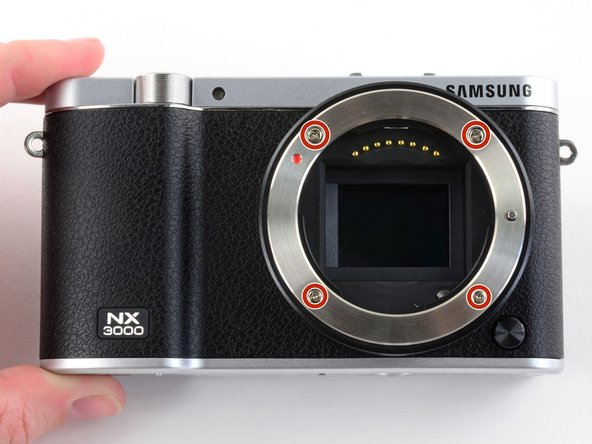 Samsung NX3000 Lens Assembly Replacement