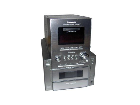 Panasonic Sa-pm17 Repair