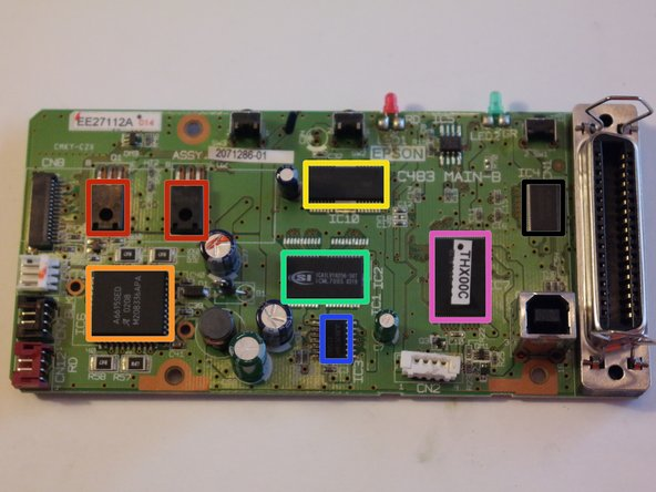 Image 1/1: A2037 and C5694 transistors